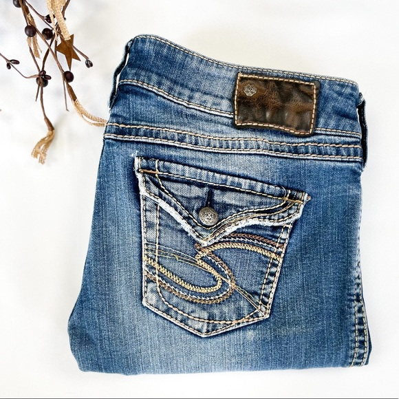29x34 McKenzie Silver Jeans